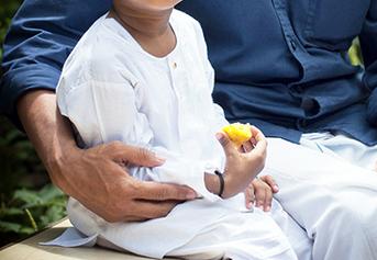 Pakaian muslim anak laki 1