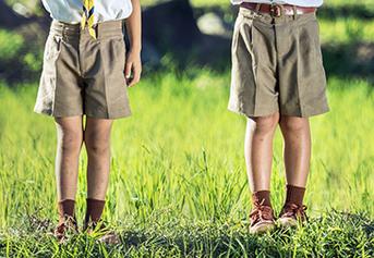 Celana pendek anak laki 1