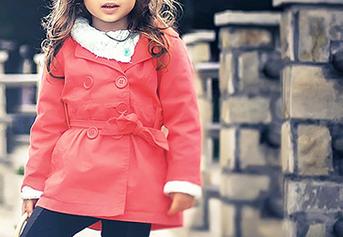 Jaket outwear  anak perempuan