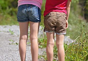 Celana pendek anak perempuan 1