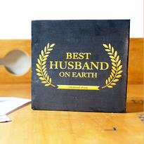 Pajangan Meja Best Husband Award
