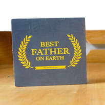 Pajangan Meja Best Father Award