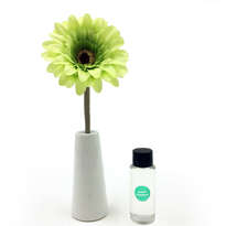 Reed Diffuser 30ml with Daisy Ceramic - Green Bamboo