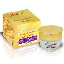 Laurent Whitening Night Cream + Anti Aging 20gr
