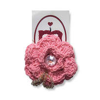 Bros Bunga Rajut - Baby Pink