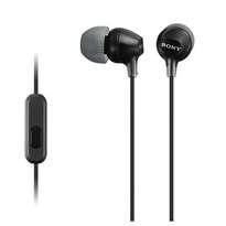Sony Earphone MDR - EX15AP Black 876MSK