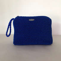 PENCIL CASE BENHUR UK BLUE RAJUT