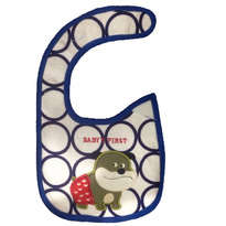 Carters Celemek Slaber Baby First - Biru