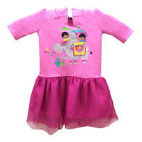 Mini Dress Anak-anak Pink