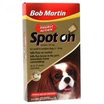 BOB MARTIN DOUBLE ACTION SPOT ON FOR MEDIUM DOGS