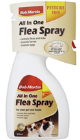 BOB MARTIN ALL IN ONE FLEA SPRAY FOR CAT AND SMALL DOGS