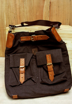 Tas Selempang British - BROWN