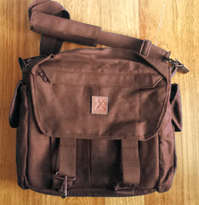 Tas Selempang Kamera 01 - DARK BROWN