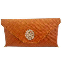 Rumi Clutch Orange