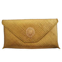 Rumi Clutch Gold