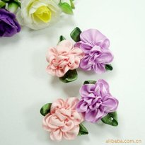 Pink and Purple Flowers Kid Hair Accessories