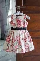Gaun Anak Motif Sakura