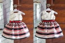 Sleeveless Stripped Dress