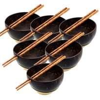 Mangkok Mie batok & Sumpit 1 Set
