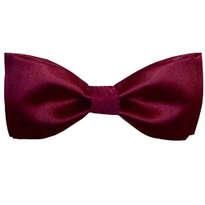 Dasi Kupu Kupu Maroon