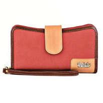 Dompet Wanita PVC Merah Bata IFO 256 187RED