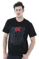 T-Shirt Garuda Indonesia INA-02 Hitam