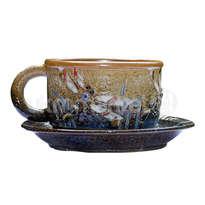 ceramic dewi srie - cangkir & tatakan - 14110504