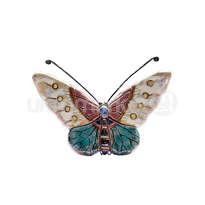 ceramic dewi srie - hiasan dinding kupu-kupu ukuran kecil - 14110521