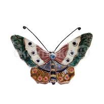 ceramic dewi srie - hiasan dinding kupu-kupu ukuran kecil - 14110525