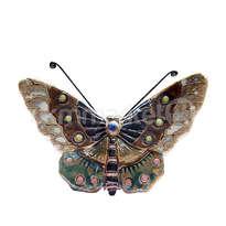 ceramic dewi srie - hiasan dinding kupu-kupu ukuran kecil - 14110524