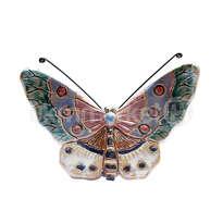 ceramic dewi srie - hiasan dinding kupu-kupu ukuran kecil - 14110522