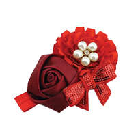 Baby Headband - Red