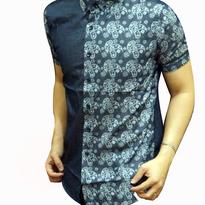 Kemeja Batik pria slim fit BT133 (L)