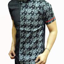 Kemeja Batik pria slim fit BT135 (XL)