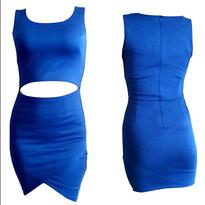 Dress Biru All Size