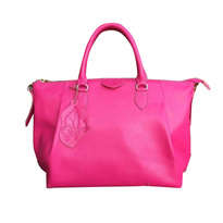 Genuine Cow Leather Pink Bag