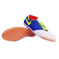 Sepatu Futsal Nike Lunar Gato Biru Putih