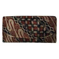 Dompet Batik Coklat