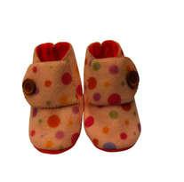 Sepatu Bayi Polkadot Pink