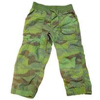 Celana panjang baby GAP joger hijau army
