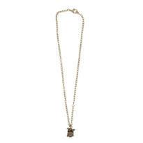 Music Necklace Bronze - Drum