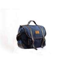 Tas Selempang Lazzardi Dimensional Navy (Messenger Bag)