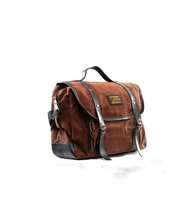 Tas Selempang Lazzardi Dimensional Brown (Messenger Bag)