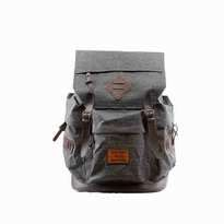 Tas Ransel Lazzardi Spectre Dark Grey Muat Laptop 14