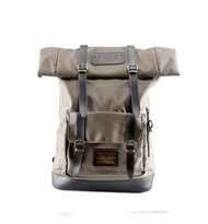 Tas Ransel Lazzardi Frandeur Dark Olive Rolltop Backpack Laptop 14