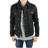 Jaket Jeans Blue Black
