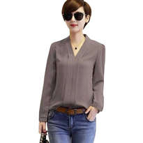 Baju Lotus Grey All size