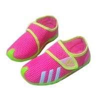 Sepatu Anak Triple Stripe Pink size 29