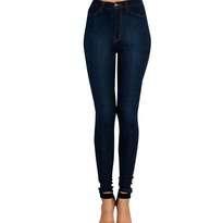 Celana HW Navy Jeans