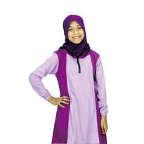 Baju Atasan Gamis Remaja Ungu Size L